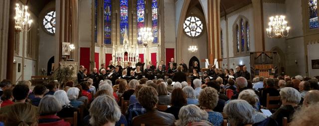 kamerkoor Lux o.l.v. Raoul Boesten, concert Baltische Zomer, 18 mei 2019, Den haag.