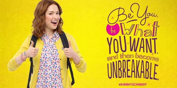 Image result for kimmy schmidt unbreakable