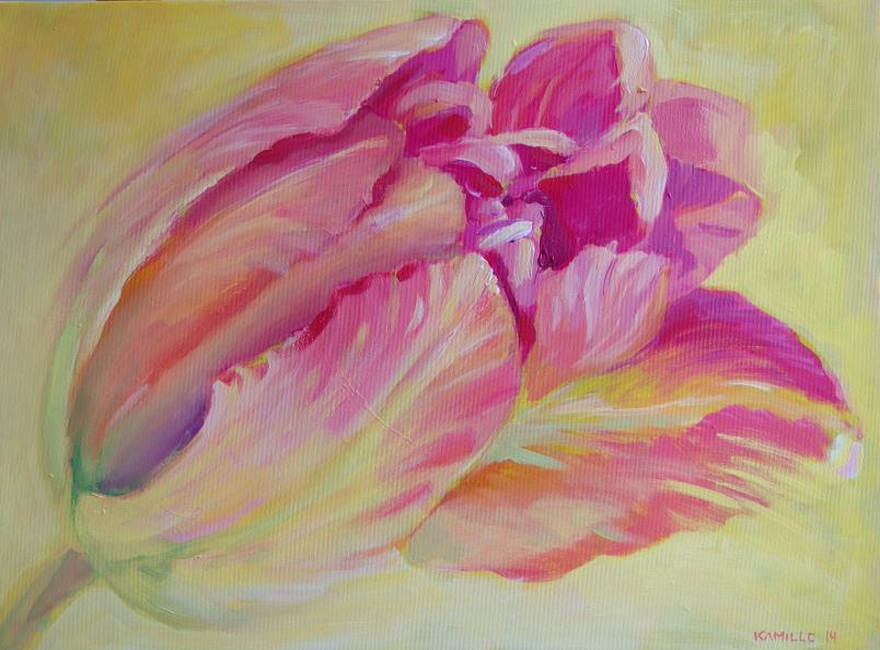 Kamille Saabre lillemaalid