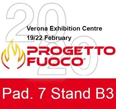 Progetto Fuoco 2020 Hall 7, Stand B3