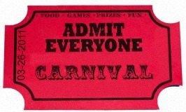 Tickets on sale for Awards Banquet/Carnival