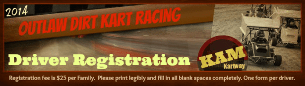 KAM Driver Registration time is here!