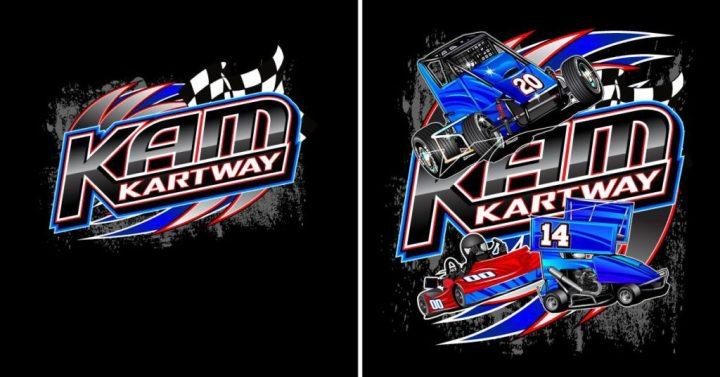 2014 KAM Kartway T-Shirt design