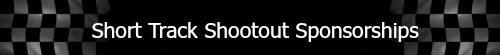 Short Track Shootout sponsor label