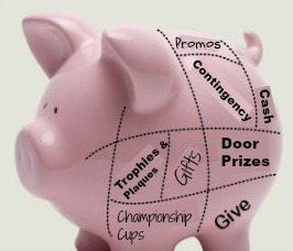 Awards & Giving Budget Piggy