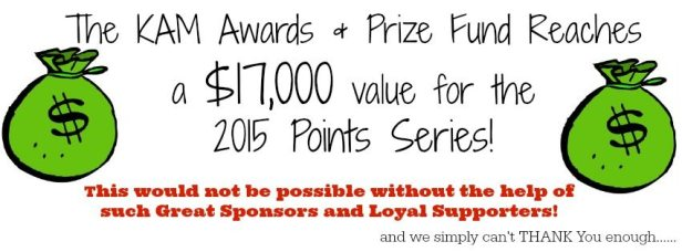 KAM Awards and Prize fund reaches $17,000