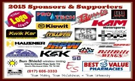 KAM Kartway's amazing sponsors and supporters
