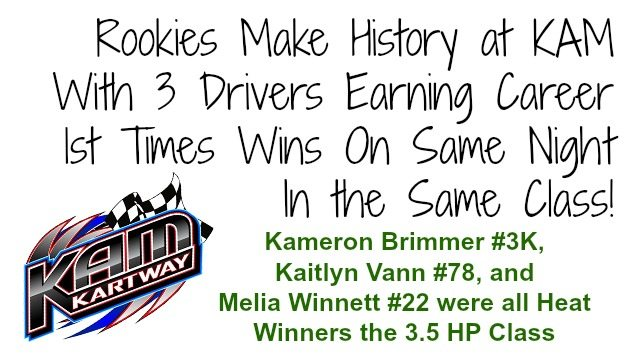 KAM race results 6-6-15