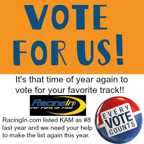 vote for us racingin dot com