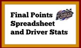 Final version of the 2017 Points Spreadsheets along with Driver Stats for the Class Champions