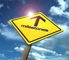 Milestone sign