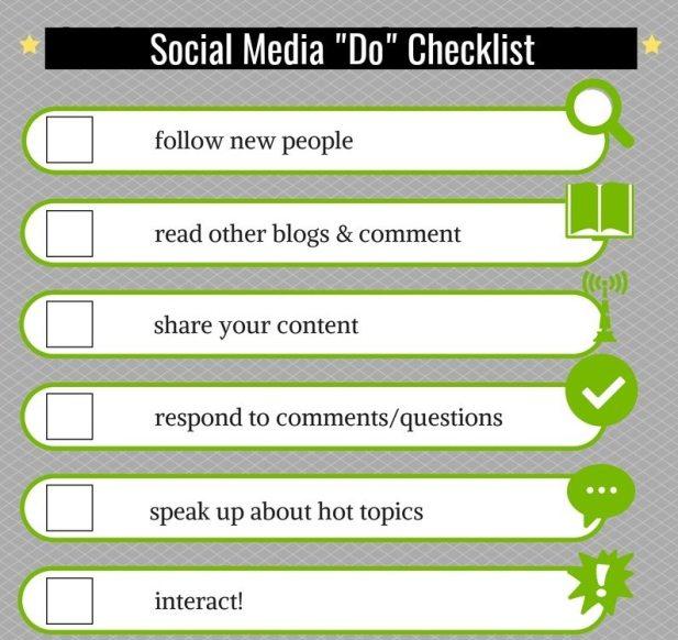 Social Media Do List