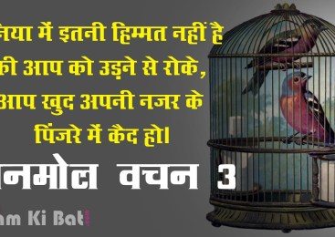 Best Hindi Quotes Set 3 – काम के अनमोल वचन