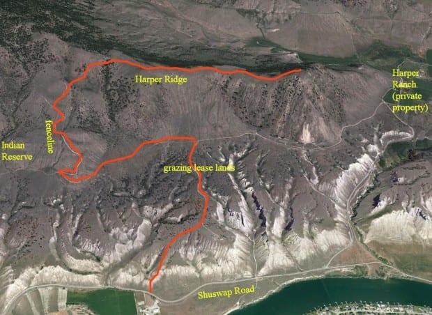 Harper Ridge Route
