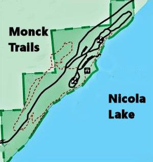 monck trail