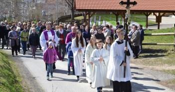 Kreuzwegandacht mit Bischof Dr. Wilhelm Krautwaschl