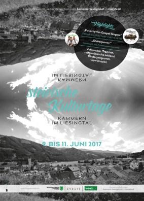 Steirische Kulturtage in Kammern vom 9.-11. Juni 2017
