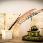 Sonderausstellung Schreibmaschine Federkiel