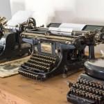 Sonderausstellung Schreibmaschine