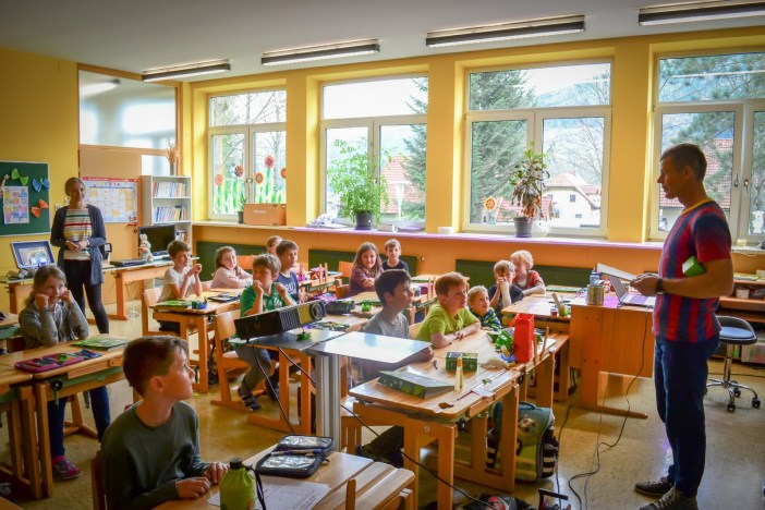 Energieschlaumeier in der Volksschule Kammern