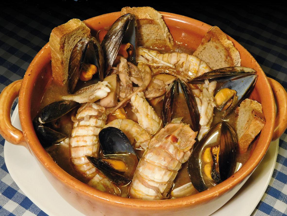 """Brodetto """"Grazie Mare!"""" – alias Zuppa di pesce senza lische a modo ..."""