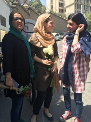 در اعتراض به حکم دوسال زندان بهاره هدایت_Kampain.info