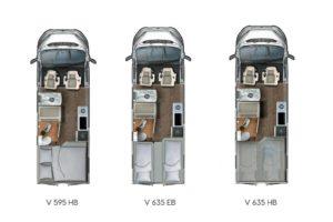 Eura Mobil Van buscampers