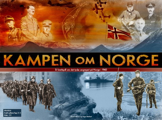 Kampen om Norge game box front cover