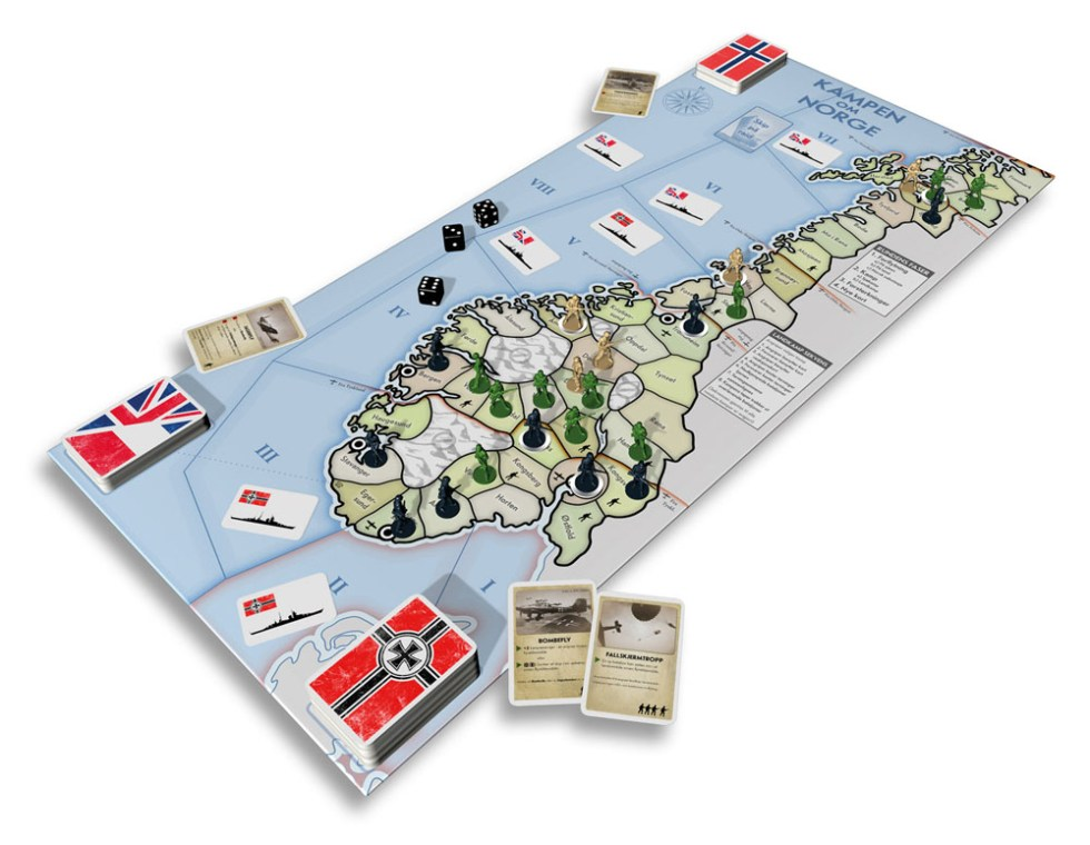 Kampen om Norge i 3D