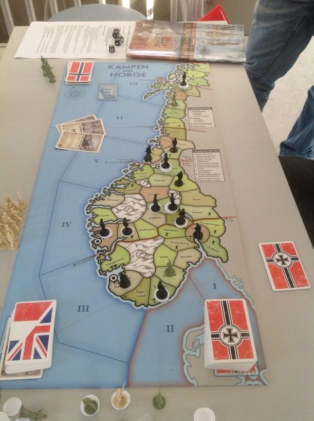 Finalebordet ved spillets slutt. Tyskland (Sverre) har full kontroll. Imponerende!