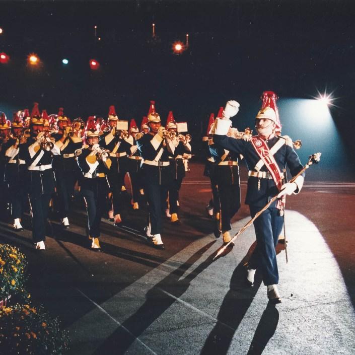 Jeugd Verkeers Brigade | KTK | Kampen | archief | historie | oude foto's | Taptoe Leeuwarden