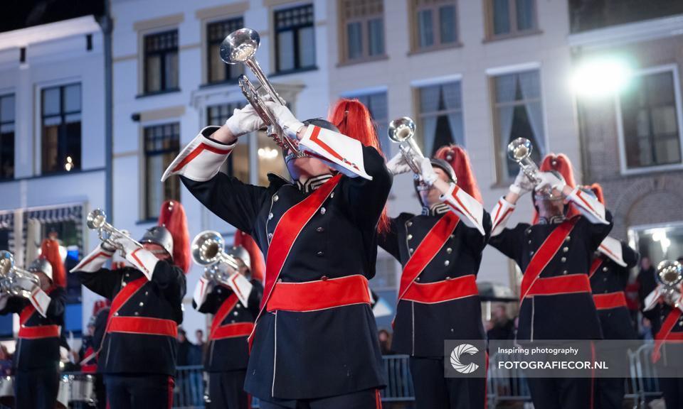 Open repetitie Kamper Trompetter Korps