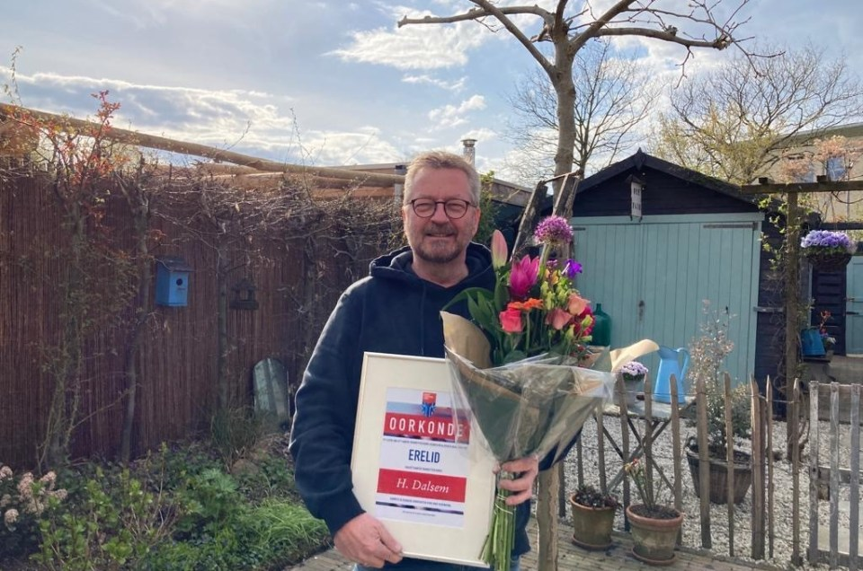 Bijzondere waardering voor KTK-ers Henry Dalsem en Anja van Dijk
