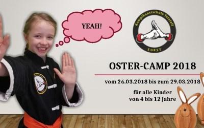 Unser Oster-Camp 2018 – Auch für Nichtmitglieder