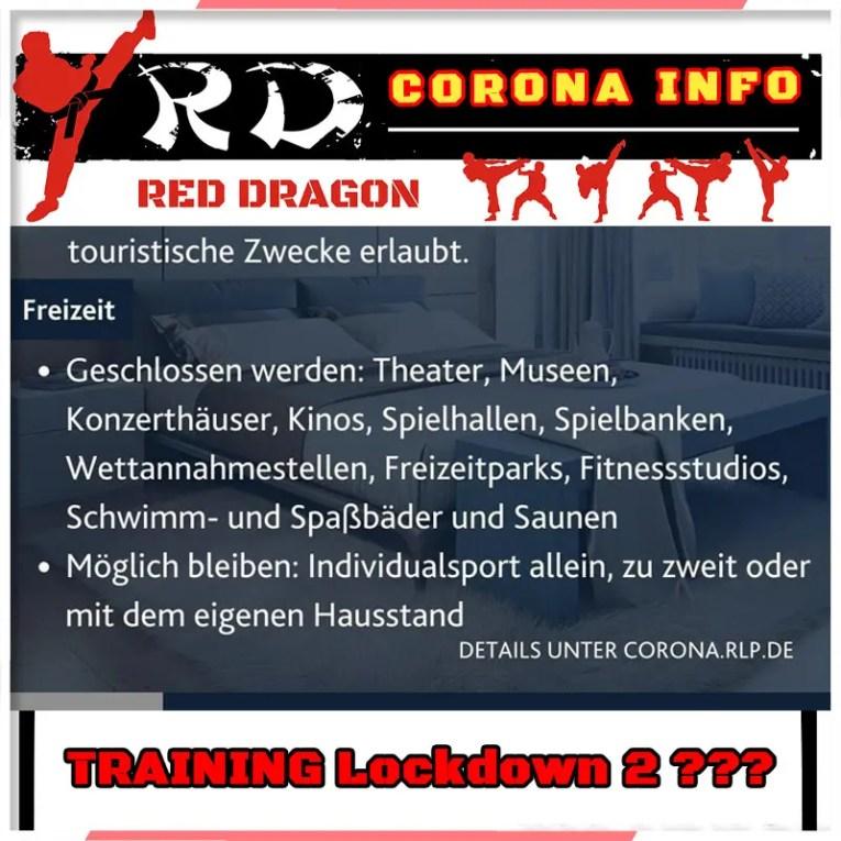 Kampfsportschule NEUWIED - CORONA INFO