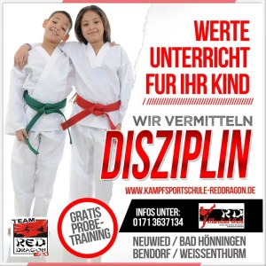 Disziplin durch Kampfsport März 2020