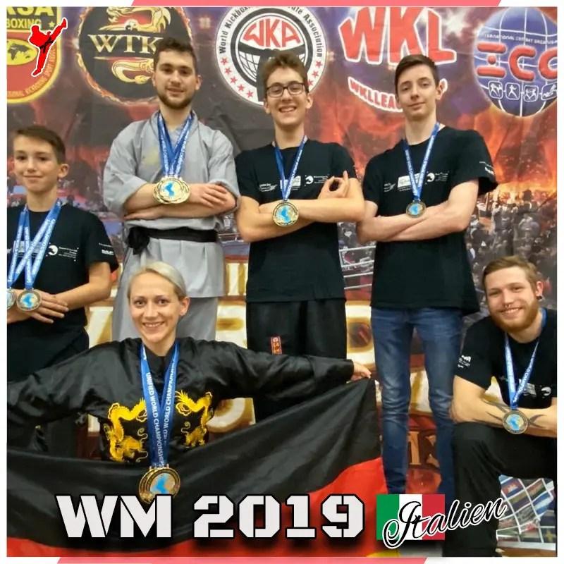 Story Seite Kampfsportschule mit Thema WM 2019