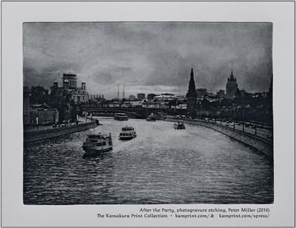 After the Party, photogravure etching