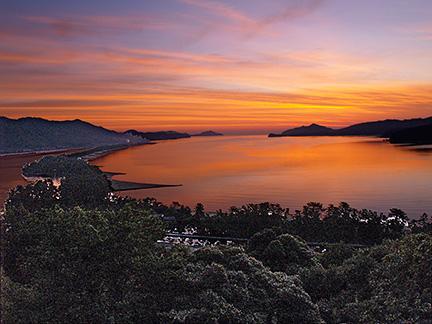 View from Genmyoan