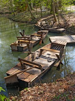 Leonardo's boats