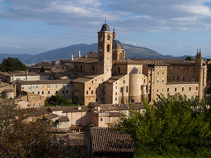 Renaissance city Urbino