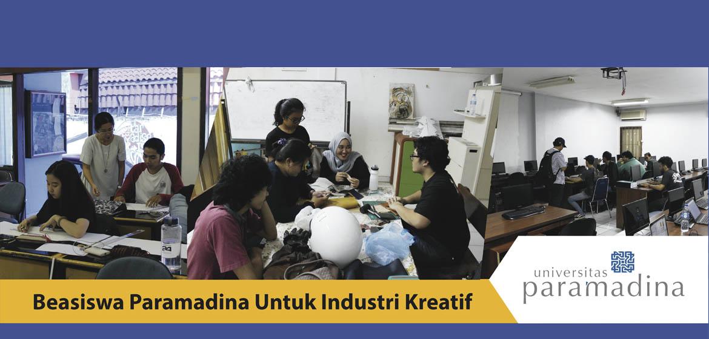 Beasiswa Paramadina Untuk Industri Kreatif 2017