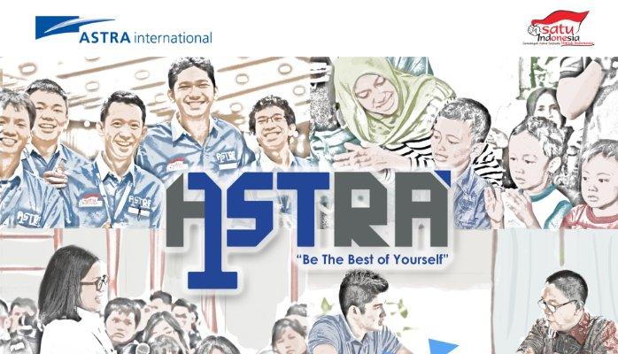 Beasiswa Astra 1st Tahun 2017