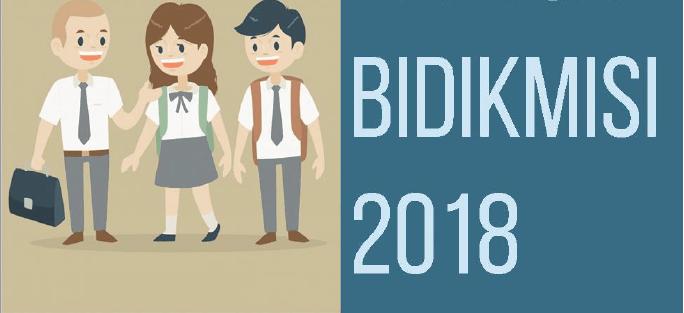 Beasiswa BidikMisi 2018
