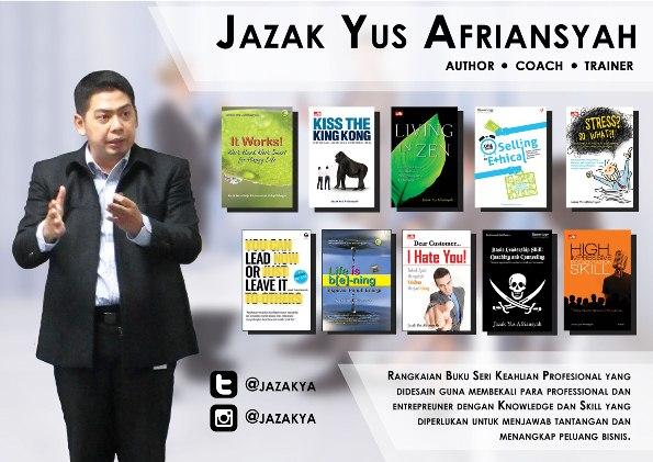 Liku-Liku Jazak Yus Afriansyah Menjadi Trainer, Coach, dan Penulis