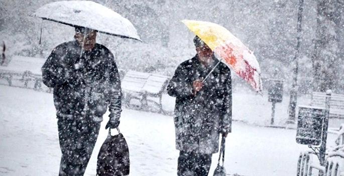 Meteoroloji'den yoğun kar yağışı uyarısı-haritalı