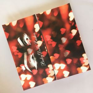 Wholesale Valentine's Day Sexy Theme Custom Eyelash Packaging Boxes