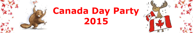 Canada Day Party 2015