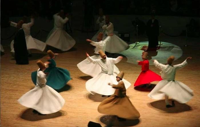 Ciri Khas Tarian Sufi
