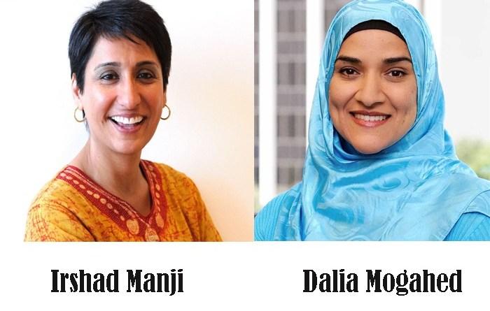 Irshad Manji dan Dalia Mogahed